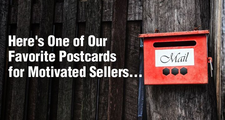 Real Estate Investor Postcards