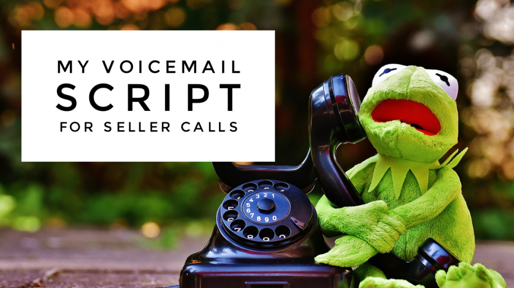 motivated seller voicemail script