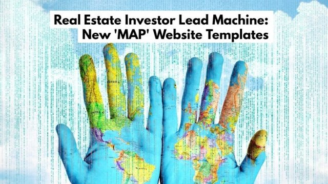Real Estate Investor Lead Machine New Website Templates - Real estate investor website templates