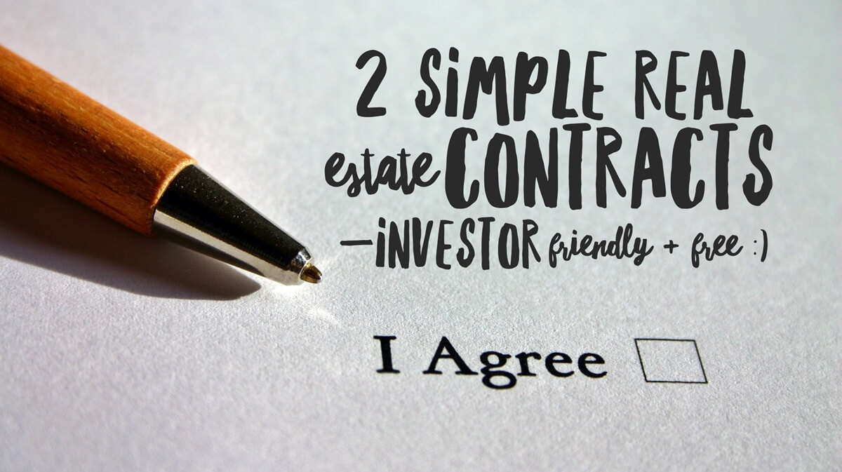 Simple Real Estate Contract