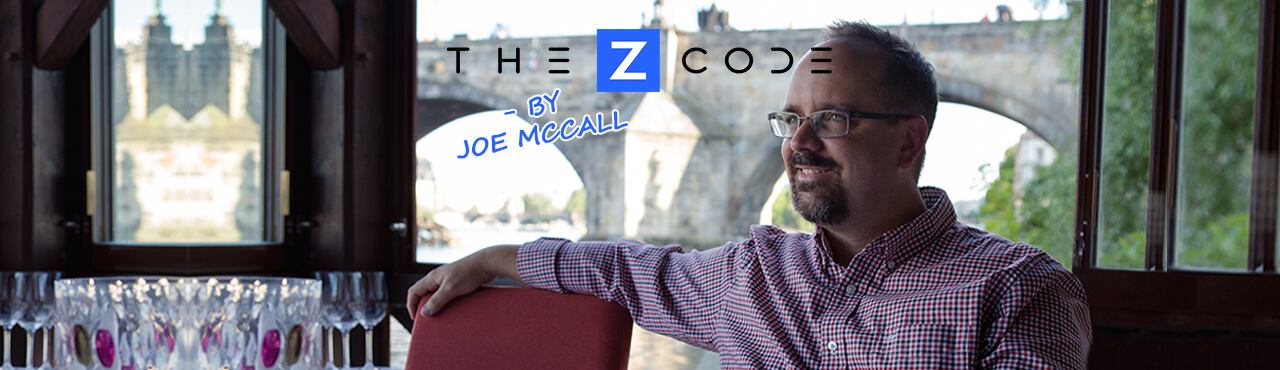 "Announcing: ""The Z-Code"" by Joe McCall"
