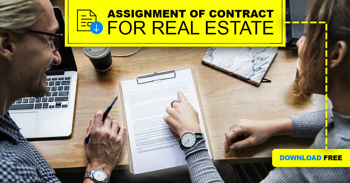 Assignment of Contract for Real Estate