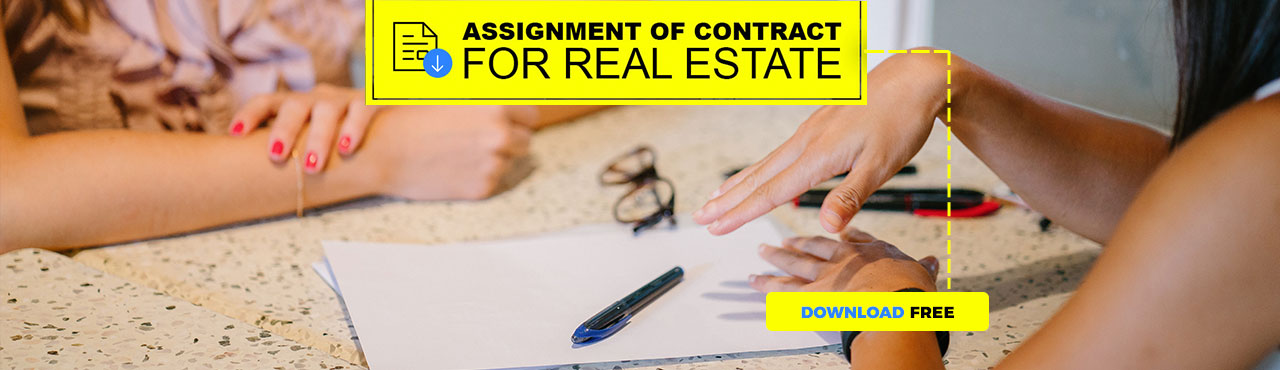 Assignment of Contract for Real Estate [template]
