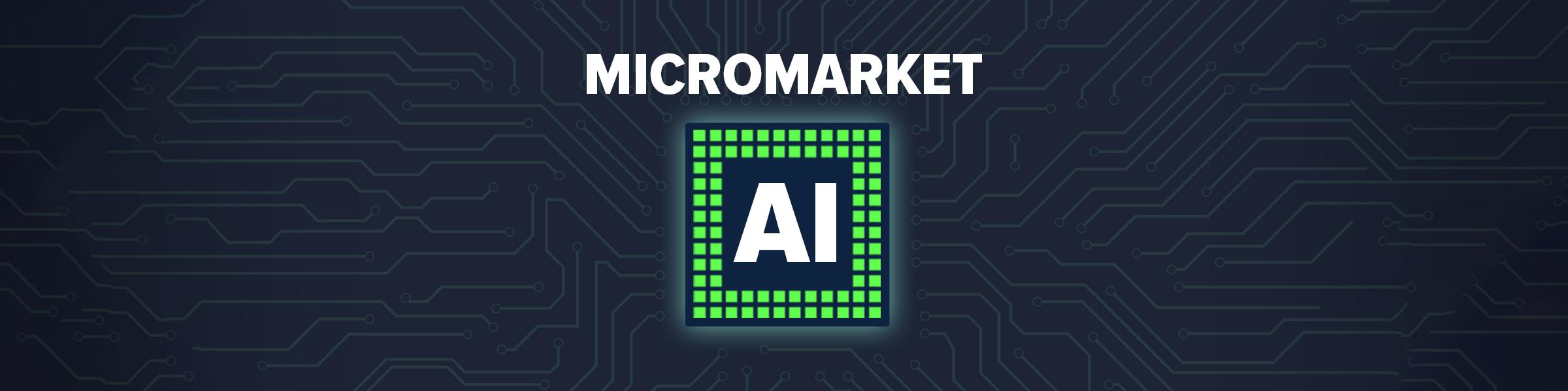MicroMarket A.I. Press Release Header